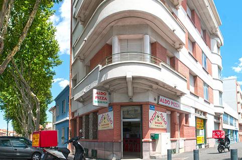 Pizza Aldo Perpignan sur le boulevard Aristide Briand. (® networld -Laurent Nyilasi)